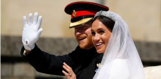 The newly married royal couple on their wedding earlier this year (Image GEThe newly married royal couple on their wedding earlier this year (Image GETTY)TTY)