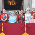 The royal family on the balcony of Buckingham Palace at Trooping the Colour 2018. Source Getty