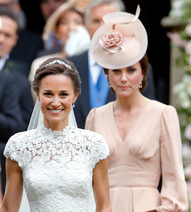 How Kate Middleton is helping sister Pippa through her first pregnancy Photo (C) GETTY