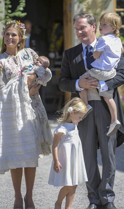 The young royals must be raised within Sweden's kingdom in order to maintain their succession rights (Image GETTY)