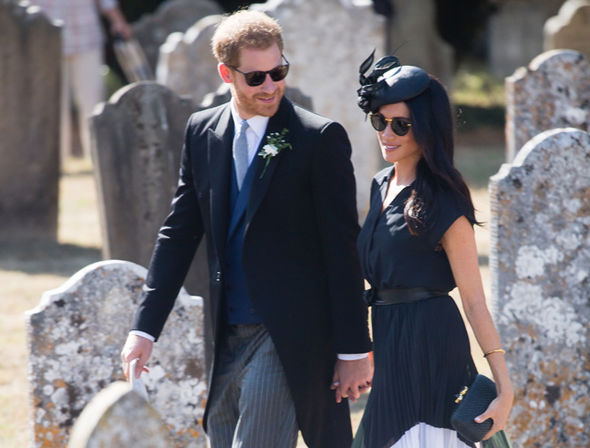 Thomas Markle is desperate to meet Meghan and Prince Harry in California (Image GETTY)