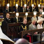 UNLIKELY Kate Middleton was sat on the front row with Camilla Parker Bowles Photo (C) GETTY