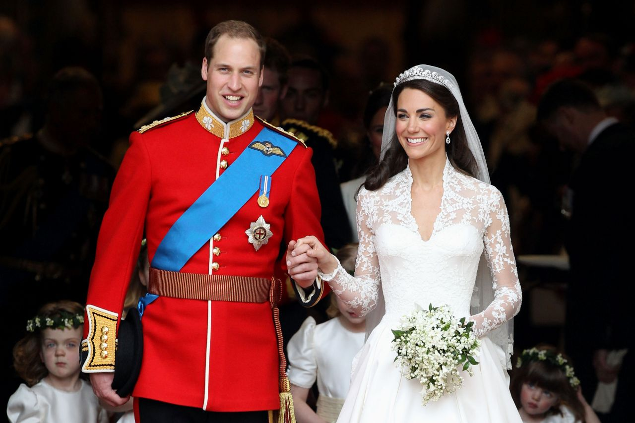 When Kate married Prince William in 2011, she was given the title of the Duchess of Cambridge by the Queen. Photo Getty Images