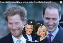 Will Prince William and Harry refuse to let Camilla be Queen