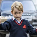 Young Prince George will go back to school at the start of next month as he begins year one (Image GETTY)