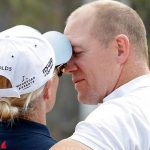 Zara and Mike Tindall put on very affectionate display at festival Photo (C) GETTY