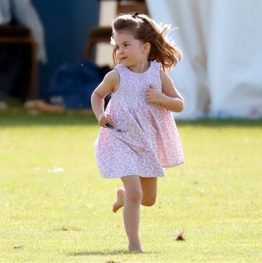 Princess Charlotte loves to go horseback riding, apparently