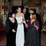 01 Kate dazzled in a silver-embellished vintage Amanda Wakeley dress Photo (C) GETTY IMAGES