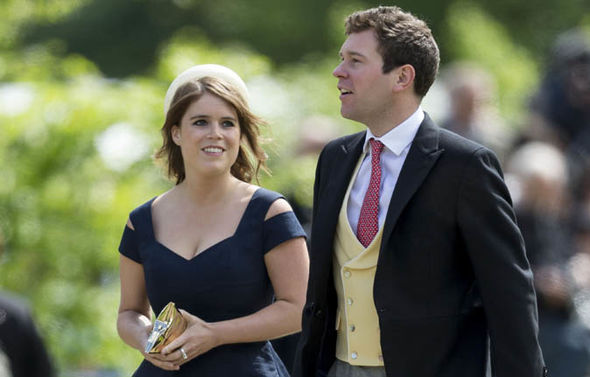 Princess Eugenie reportedly has 'no bad feelings' and has a close relationship with Prince Harry (Image GETTY)