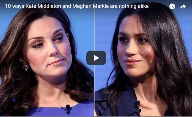 10 ways Kate Middleton and Meghan Markle are nothing alike