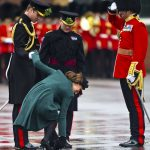 2 Kate calmly rectified the error and gracefully moved on (Image GETTY)
