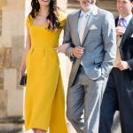 Amal and George Clooney were invited to the royal wedding (Image GETTY)