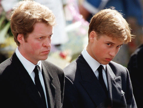 At his sister Princess Diana's funeral, the Earl of Spencer shamed the Royal Family (Image Getty Images)