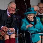 Charles and the Queen pictured earlier this year at the Braemar Highland Gathering Photo (C) GETTY