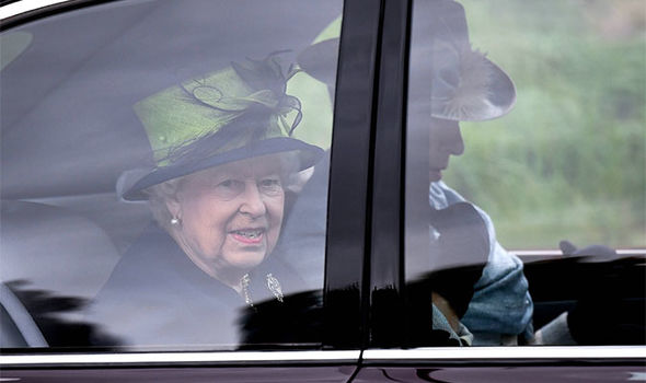 Camilla, 71, was nowhere to be seen. (Image AFP)