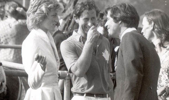 Diana, Charles and Oliver (Image Steve Back Daily Mail REX Shutterstock)