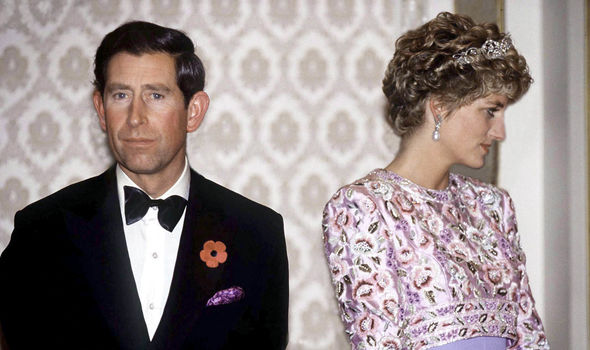 Diana and Charles divorced in 1996 (Image GETTY)