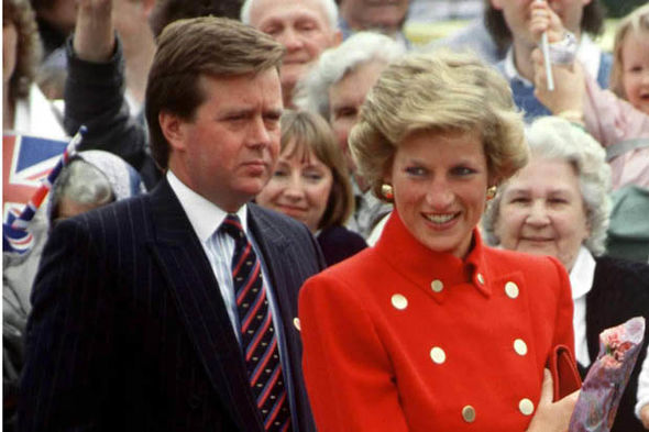 Diana and Kevin (Image Tim Graham Getty)