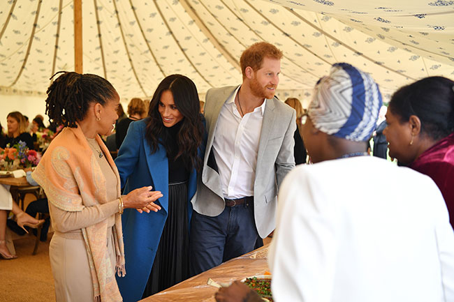 Doria Ragland has a lot of travel knowledge to offer Harry and Meghan Photo (C) GETTY