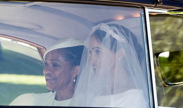 Doria Ragland was the only member of Meghan Markle's family to be at the Royal Wedding (Image GETTY)