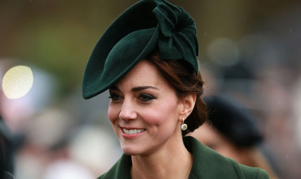 Kate often wears understated outfits to weddings so the focus remains on the bride (Image GETTY)