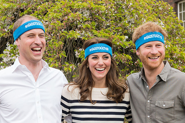 Heads Together is the Royal Foundation's mental health campaign PhotHeads Together is the Royal Foundation's mental health campaign Photo (C) GETTYo (C) GETTY