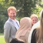 I could be wrong but I reckon we've caught Prince Harry red handed stealing some samosas from the Meghan's 'Together' cookbook event they were at today