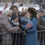 Kate, Duchess of Cambridge, is a natural when it comes to royal walkabouts (Image GETTY )