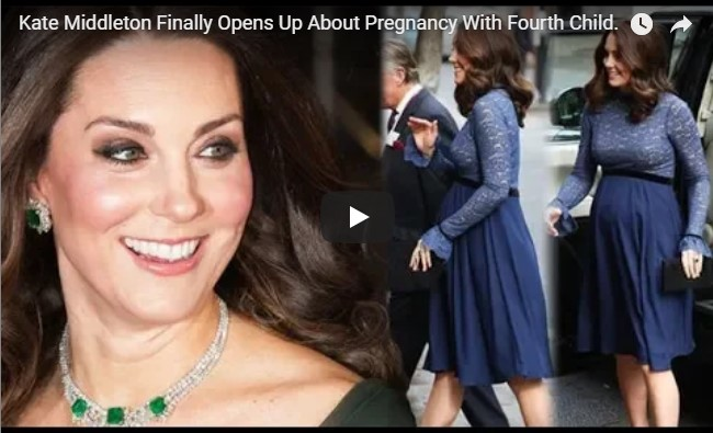 Kate Middleton Finally Opens Up About Pregnancy With Fourth Child