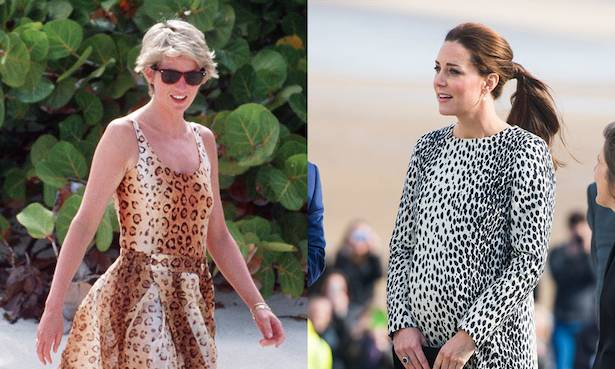 Kate Middleton, Princess Diana and other royals go wild for animal print Photo (C) GETTY
