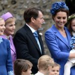 Kate Middleton and family were present at Sophie Carter's wedding (Image NC)