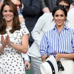 Kate Middleton visited the Wimbledon Tennis championships with Meghan Markle in June (Image GETTY