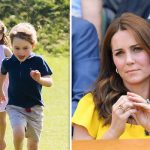 Kate forgot an essential item when she went shopping for school shoes with George and Charlotte (Image GETTY)