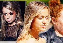Lady Amelia Windsor Blasted 'better without all that makeup' after make-up campaign (Image GETTY LLAMASQUA)