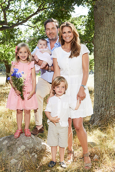 Madeleine and her family are settled in Miami © Anna-Lena Ahlström, Royal Court, Sweden Photo (C) GETTY