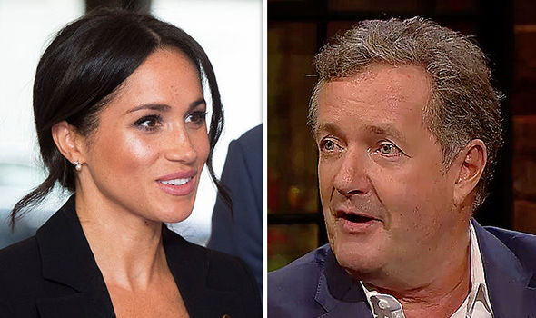 Meghan Markle Piers Morgan jokingly said the Duchess ghosted him (Image GETTY•RTE)