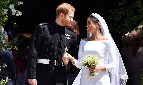 Meghan Markle She married Prince Harry on 19 May this year (Image Getty)