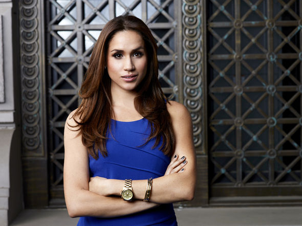 Meghan Markle had a successful acting career as a star in Suits (Image GettyImages)