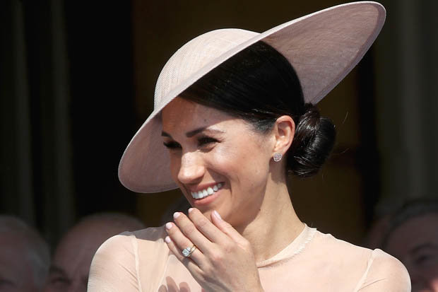 The Duchess of Sussex has given Photo (C) GETY