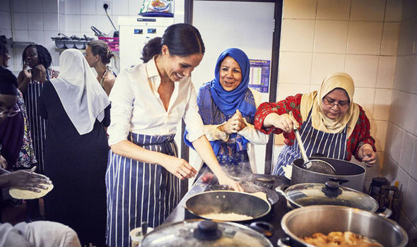 Meghan Markle is backing a Grenfell charity cookbook in her first royal solo projMeghan Markle is backing a Grenfell charity cookbook in her first royal solo project (Image PA)ect (Image PA)