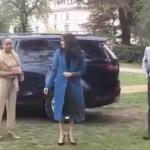 Meghan Markle, mum Doria Ragland and Prince harry [Richard Palmer]