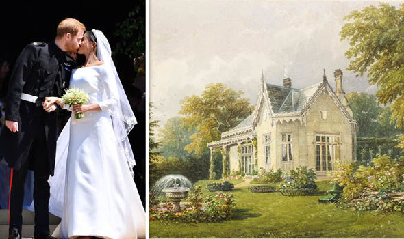 Meghan Markle news Adelaide Cottage in Home Park, Windsor, is said to be a generous wedding gift (Image Getty Royal Collection )