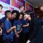 Meghan Markle news Meghan chats to attendees of the prestigious WellChild Awards (Image PA)