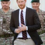 Meghan Markle news Prince had a solo trip today, which had to do with his military background (Image GETTY)