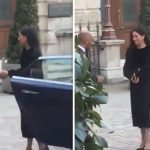 Meghan Markle praised for shutting own car door at event (Image Twitter)