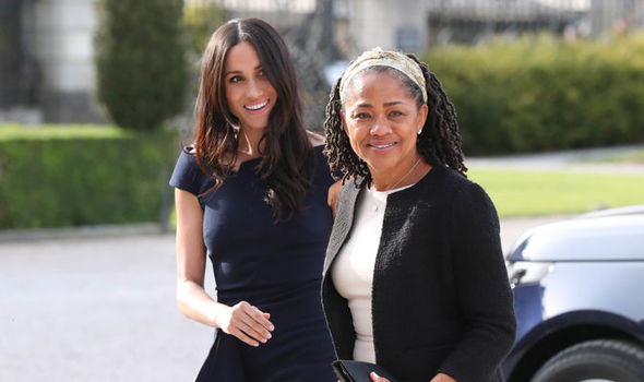 Meghan Markle's mother, Doria, was spotted taking parenting classing in Los Angeles. California (Image GETTY)