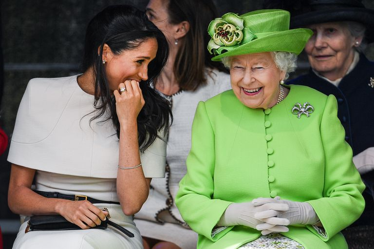 Meghan has also won over another very important member of the family in a big way Prince Harry's dad, Prince Charles Photo (C) GETTY
