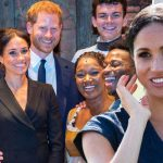 Meghan made Harry blush at Hamilton by accidentally revealing his pet name (Image Getty Images)