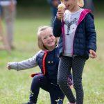 Mia Tindall had fun with her cousin Isla Photo (C) GETTY