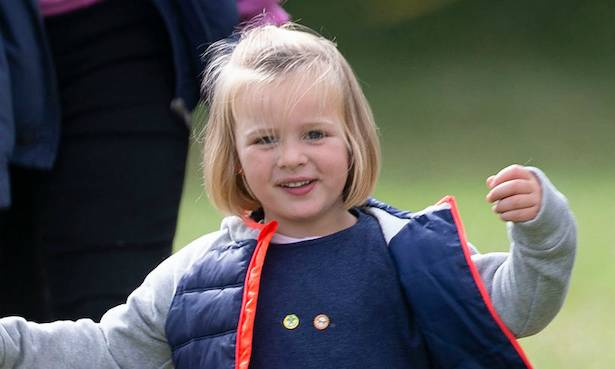 Mia Tindall steals the show during family day out with royal family Photo (C) GETTY